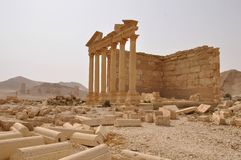 Funerary temple in Palmyra, Syria Royalty Free Stock Photo