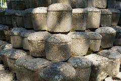 Funerary urns Stock Image