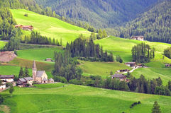 Funes valley, Italy Stock Photography