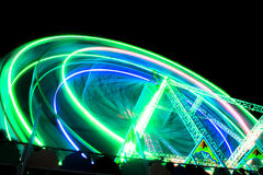 Νύχτα Funfair Στοκ Εικόνες