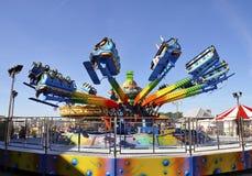 Funfair auf Brighton-Pier stockbild