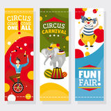Funfair banners Royalty Free Stock Images