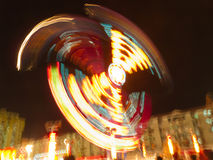 Funfair blurs royalty free stock images