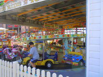 Roundabout and Funfair Royalty Free Stock Images