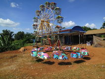 Funfair in Cambodia Royalty Free Stock Images
