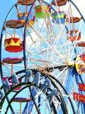 Funfair de Luna Park, Scarborough Foto de Stock Royalty Free