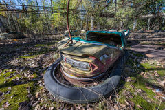 Funfair de Pripyat Fotos de Stock