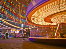 Funfair di Blackpool Fotografia Stock