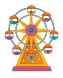 Funfair element - ilustracja dla dzieci royalty ilustracja