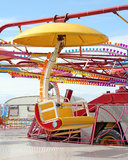 Funfair fairground ride Royalty Free Stock Image