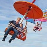 Funfair fairground ride Stock Images