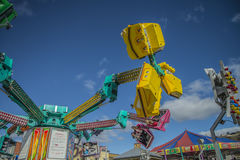 Funfair in Halden Stock Images