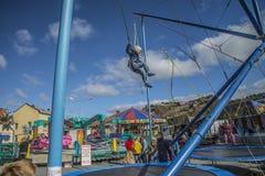 Funfair i Halden Royaltyfri Foto