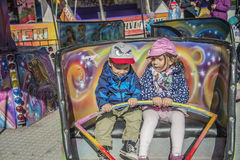Funfair i Halden Royaltyfri Foto