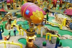 Funfair im Westedmonton-Mall stockfoto