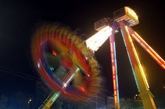 Funfair at night Stock Image