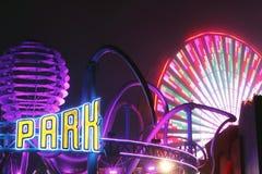 Funfair-pazifischer Park bei Santa Monica Lizenzfreie Stockbilder