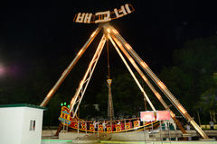 Funfair, Pyongyang, North-Korea Stock Photography