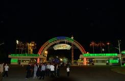 Funfair, Pyongyang, North-Korea. The new attraction of Pyongyang, the Funfair Royalty Free Stock Image