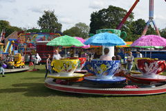Funfair ride Stock Image