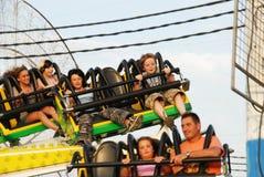 Funfair ride, Spain. Royalty Free Stock Photos