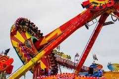 Funfair Volksfest Duitsland stock fotografie