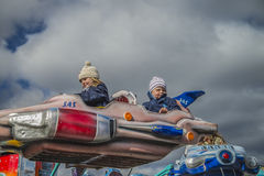 Funfair w Halden Fotografia Royalty Free