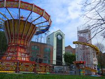 Funfair wioski Arthur Quay limeryk Zdjęcia Royalty Free