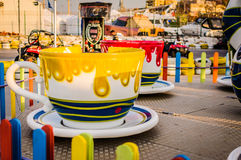 Funfair Of Yalova City Royalty Free Stock Images