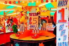 Funfairstall Lizenzfreie Stockbilder