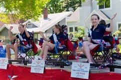 Funfest Ambassadors przy paradą Zdjęcia Royalty Free