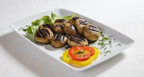 Funghi arrostiti Fotografie Stock