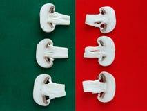 Funghi contro i funghi Immagine Stock Libera da Diritti