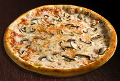 Funghi de la pizza Foto de archivo libre de regalías