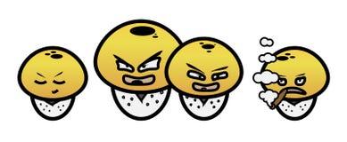 Funghi del fumetto Royalty Illustrazione gratis