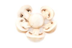 Funghi del fungo prataiolo Fotografie Stock Libere da Diritti