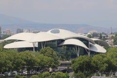 Funghi della Camera di giustizia nella città di Tbilisi immagini stock