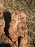 Funghi della roccia immagini stock