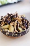 Funghi di shiitake Immagini Stock Libere da Diritti