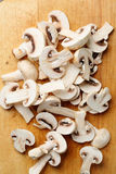Funghi di tasto bianchi Fotografia Stock Libera da Diritti