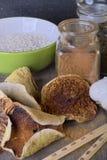 Funghi e spezie Fotografia Stock Libera da Diritti