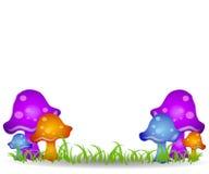 Funghi nell'arte di clip del campo 2 royalty illustrazione gratis