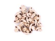 Funghi prataioli affettati Fotografia Stock