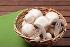 Fungo del fungo prataiolo Fotografia Stock Libera da Diritti