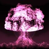 Fungo nucleare Fotografie Stock Libere da Diritti