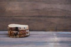 Fungus on expire bread Stock Photo