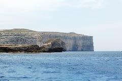 Fungus Rock, Dwajra Bay, Gozo, Malta Stock Photos