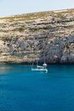 Fungus Rock, Dwajra Bay, Gozo, Malta Stock Photo