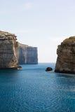 Fungus Rock, Dwajra Bay, Gozo, Malta Stock Image