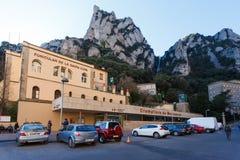 Funicolare di Montserrat, Spagna fotografie stock libere da diritti
